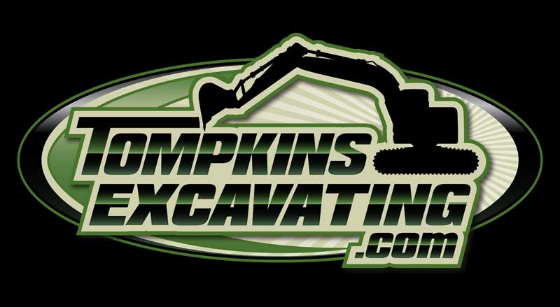 Tompkins Excavating's New Logo